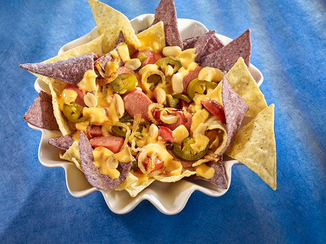 TAKE ME OUT TO THE BALL GAME NACHOS